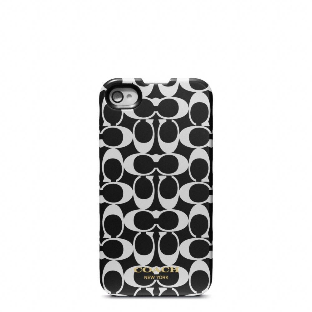 The Signature Iphone 4 Case from Coach   Products I Love ...