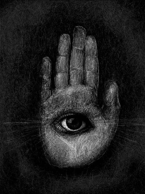 Hand With Eye In The Palm Nezart Design Hands Pinterest Eyes