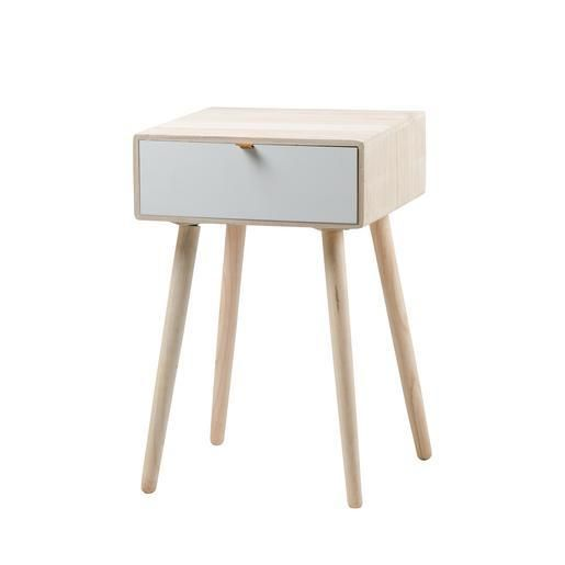 Table De Chevet Scandinave H 60 Cm Table De Chevet Scandinave Table De Chevet Meuble