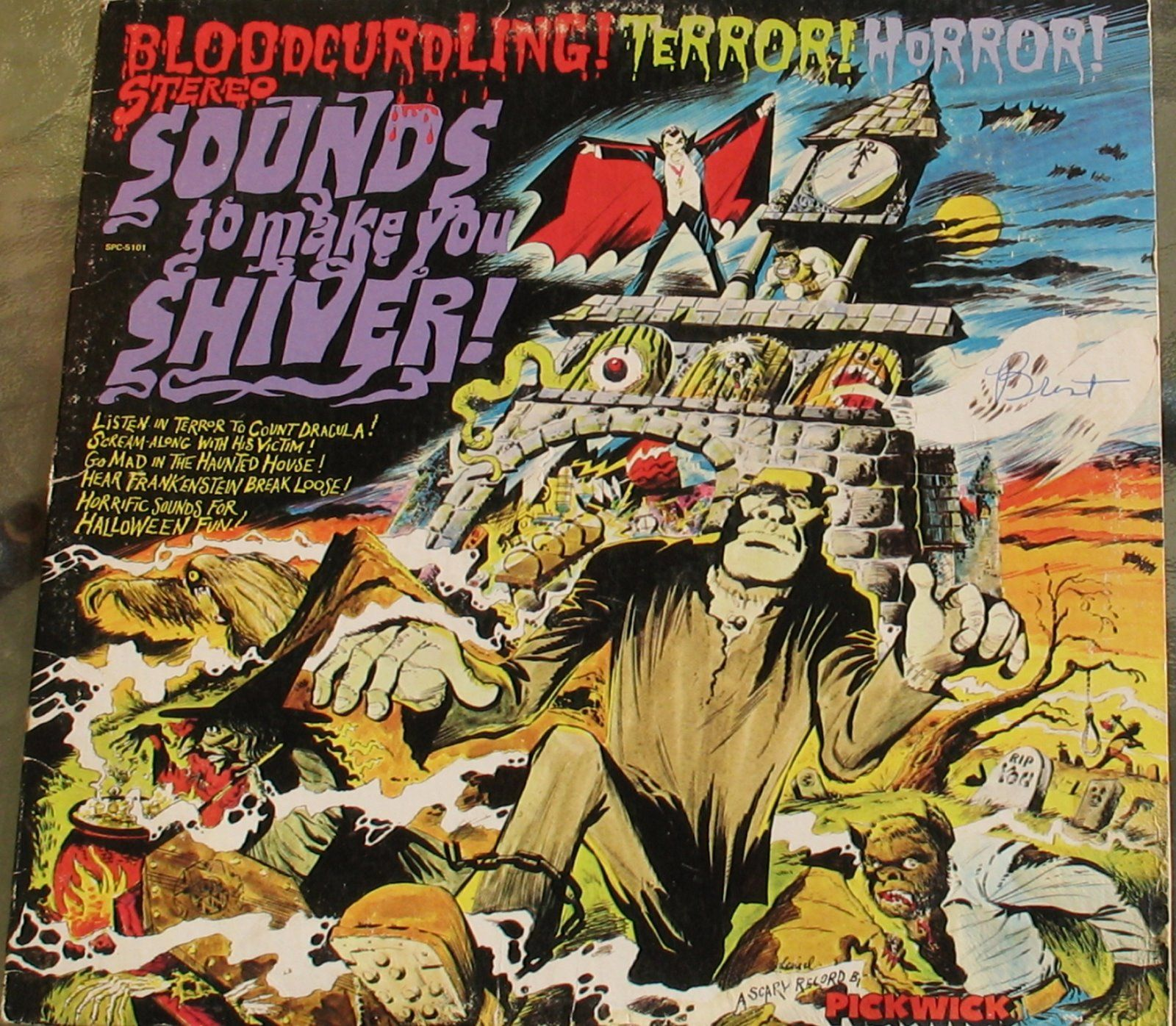 Favorite Halloween Sound Effects Record Halloween sounds