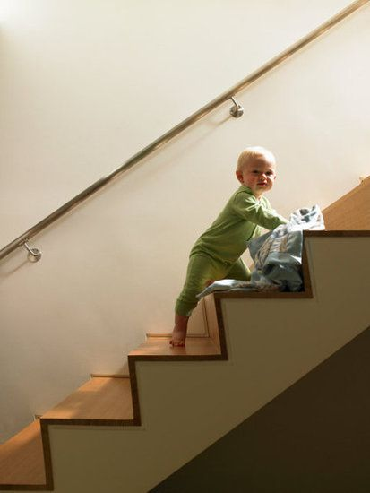 Best Baby Proofing Audra Harris Philbin Open Stairs Stairs 400 x 300