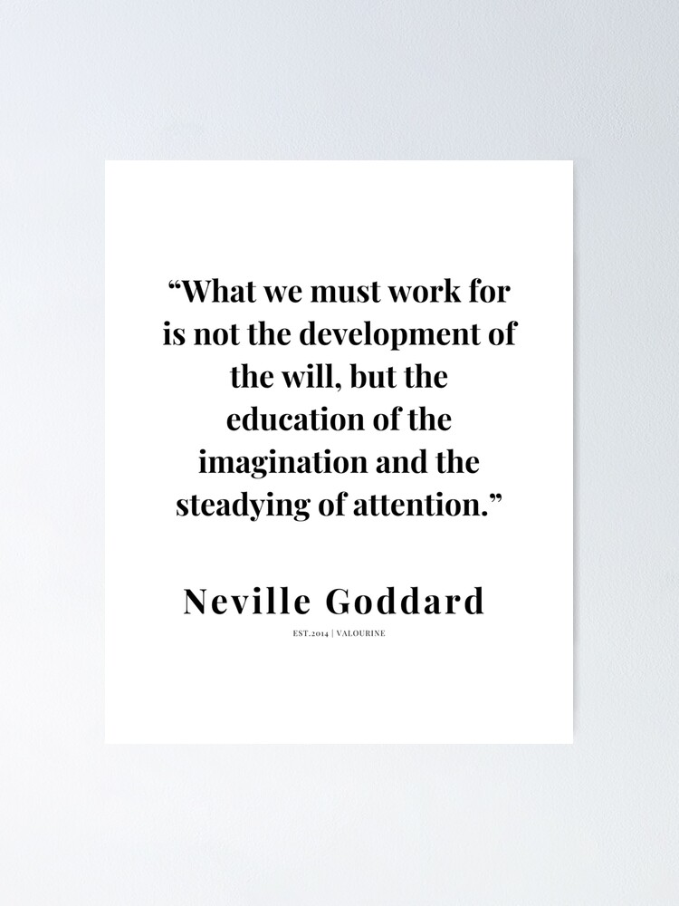41  |   Neville Goddard Quotes | 210308 | Motivational Quote Poster by QuotesGalore
