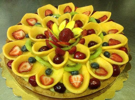 Crostata di frutta torte decorate con la frutta for Decorazioni con verdure e ortaggi