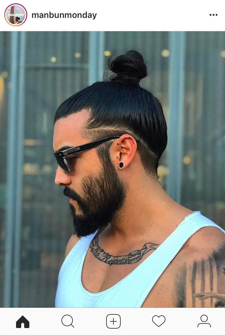Man Bun Undercut Long Hair Mens Long Hair Undercut Long Hair Styles Men