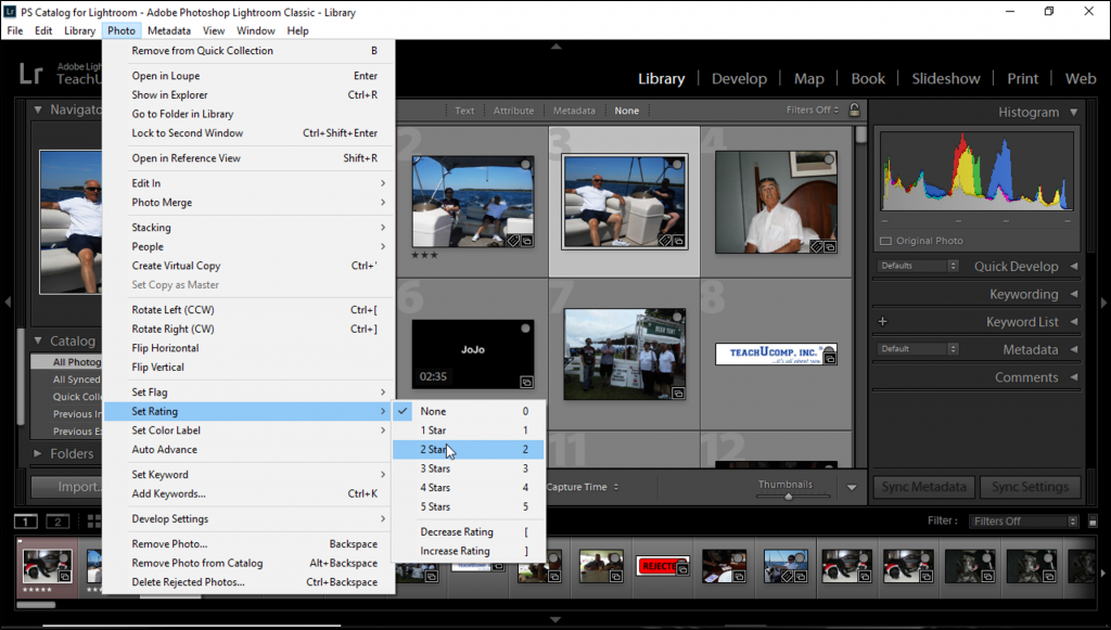 Ratings In Lightroom Classic Cc Instructions And Video Lesson