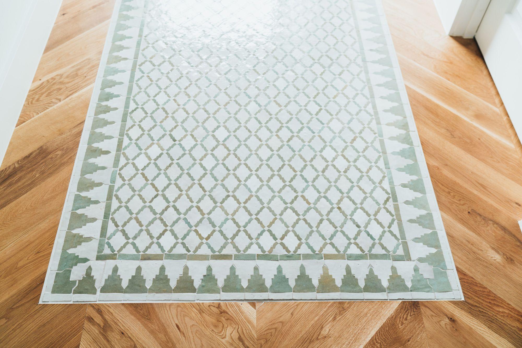 Tilesofezra Moroccan Border Tiles Feature Entry Tile