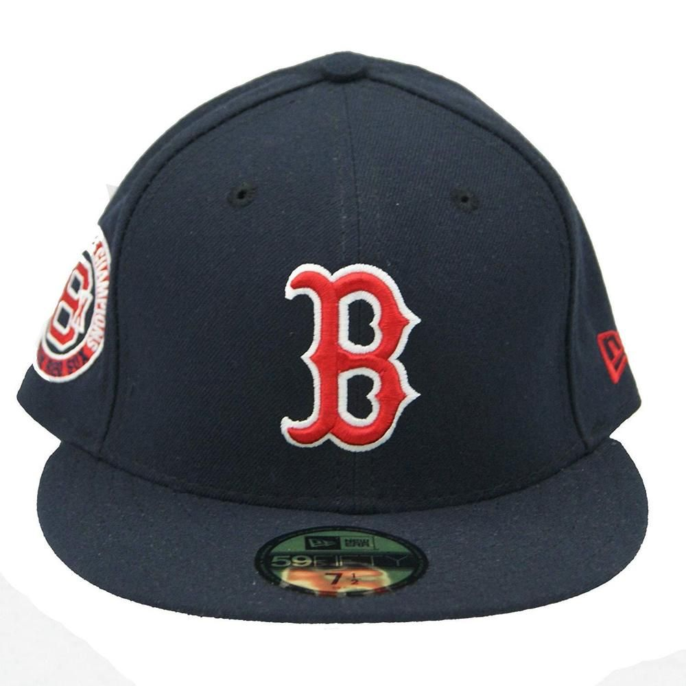 New Era 59fifty Boston Red Sox Fitted Hat Size 7 1 2 World Series Patch Cap Mlb Newera Bostonredsox Fitted Hats New Era 59fifty Hat Sizes