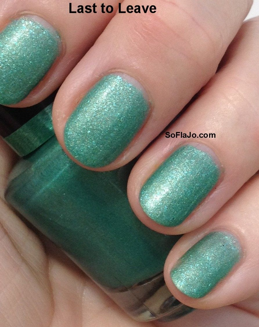 Last to Leave Matte Nail Polish by SoFlaJo on Etsy