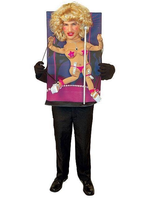 Mens Teenie Weenies Pole Dancer Costume Mens Humorous Halloween - halloween costumes ideas men
