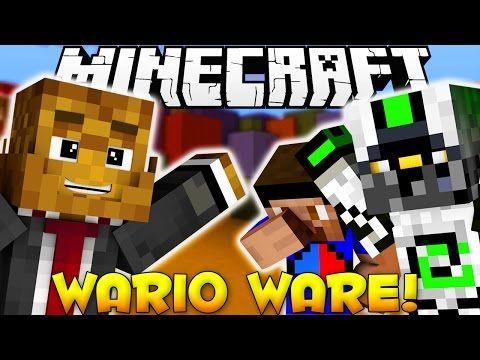 Minecraft WARIOWARE Rapid Fire Minigames W Vikkstar Nade Http - Minecraft ps4 minispiele