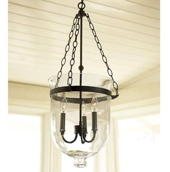 Our Foyer Chandelier - From Pottery Barn