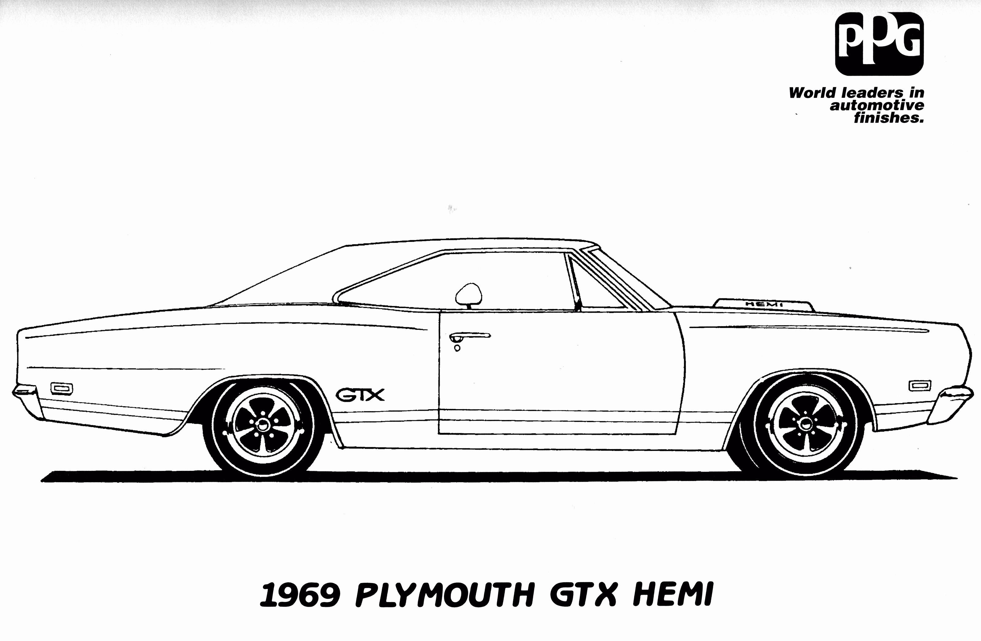 Dodge Charger Coloring Page Unique 1969 Dodge Charger Car Coloring