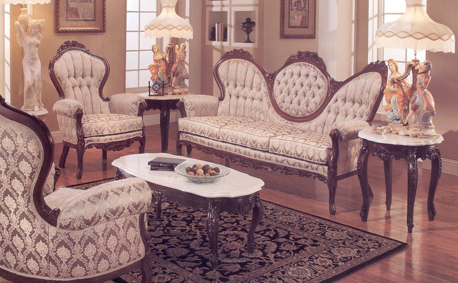 victorian style furniture | Victorian Style - Classic Bed Room French Design