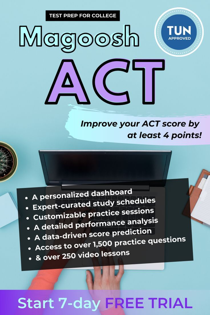 Improve your ACT score 4+ points, guaranteed. (With images