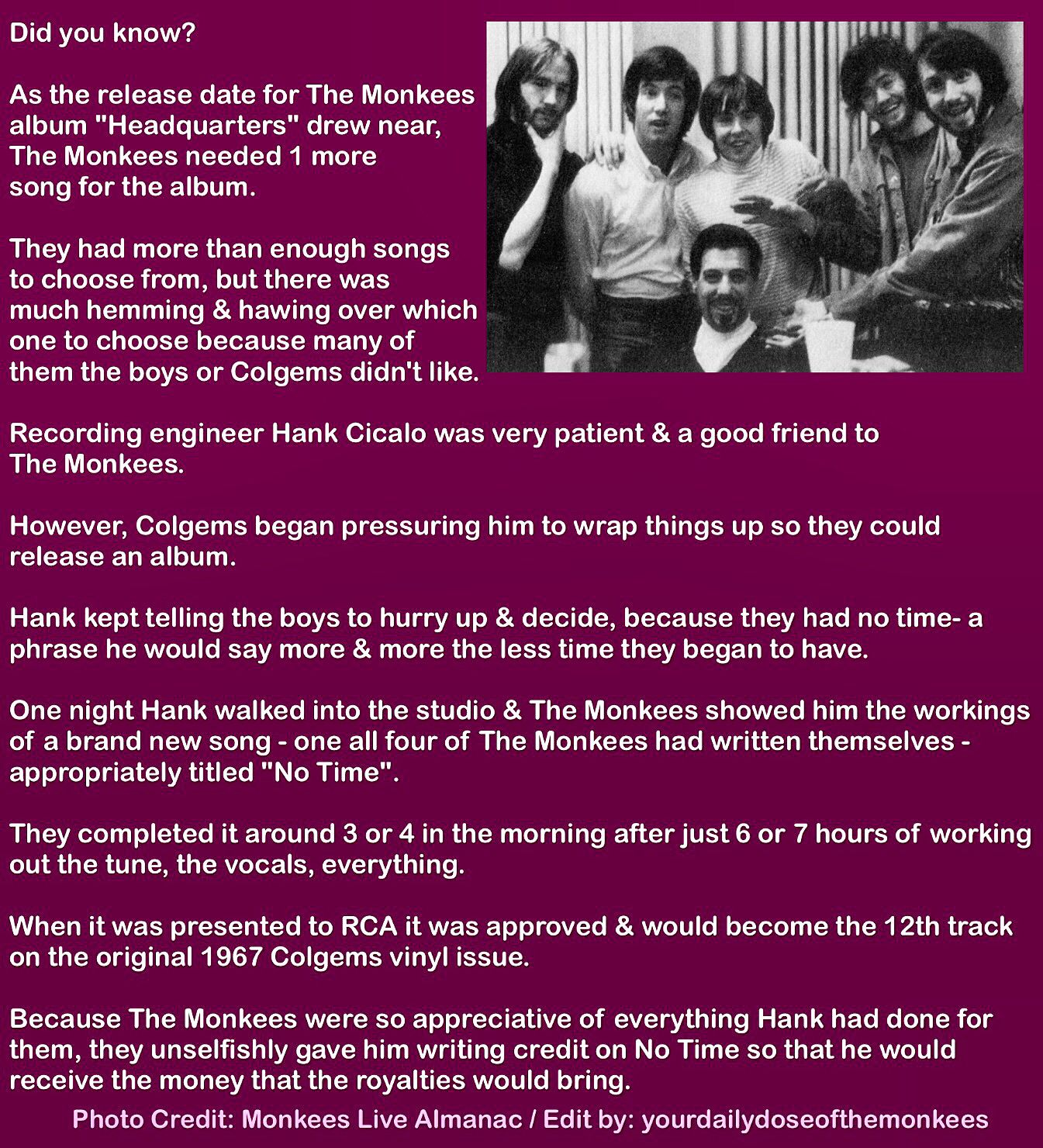 Quiz dating monkees