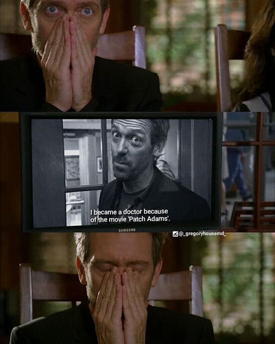 "House is probably thinking, ""Kill. Me. Now."" #gregoryhouse #housemd"