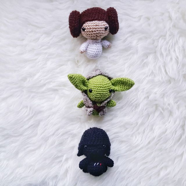 Little Things Blogged: AMIGURUMI STAR WARS PATTERN COLLECTION ...