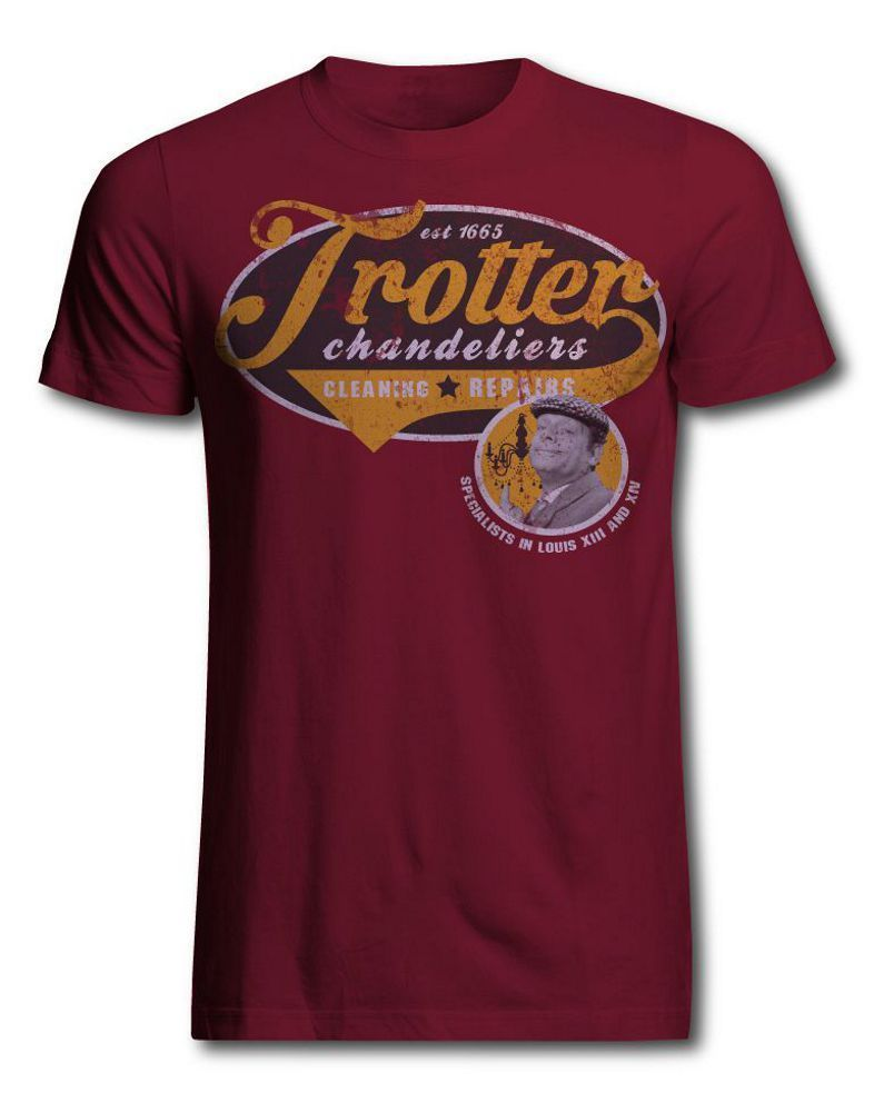 Only fools and horses official trotters chandelier cleaning services only fools and horses official trotters chandelier cleaning services t shirt ebay arubaitofo Images