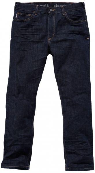 fede jeans carhartt arbejdsjeans slim fit straigh leg 100 bomuld m rk denim 100198 962. Black Bedroom Furniture Sets. Home Design Ideas