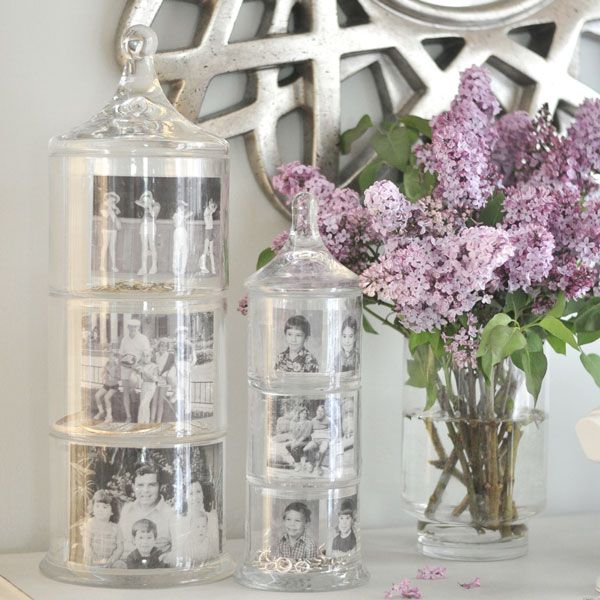 #DIY Mother's Day Memory Jars (by Kate Riley of Centsational Girl, via westelm) #MothersDay