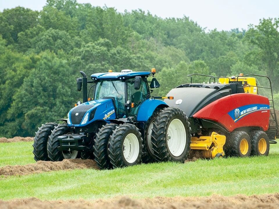 New Holland T8 Fwd Large Square Baler New Holland Tractor New Holland Agriculture New Holland Ford