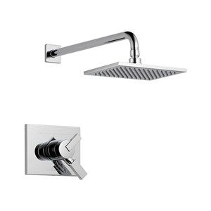 Delta Vero Matches Vero Squared Faucet 8 X 5 Inch Head Tub And Shower Faucets Shower Tub Delta Faucets