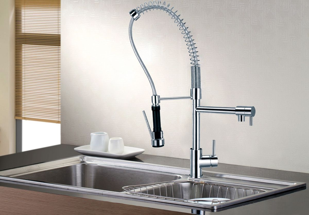 Contemporary Modern Single Handle Kitchen Faucet Contemporary