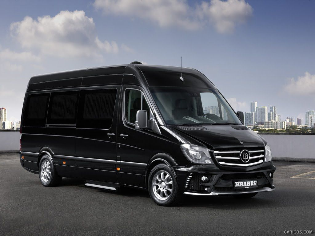 This mercedes benz sprinter by brabus is the most luxurious thing we ve ever seen sprinter pinterest