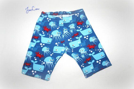 Shorts Underwaterlove in Gr. 86/92 kurze Hose von JoLouDownDesign, €12.50