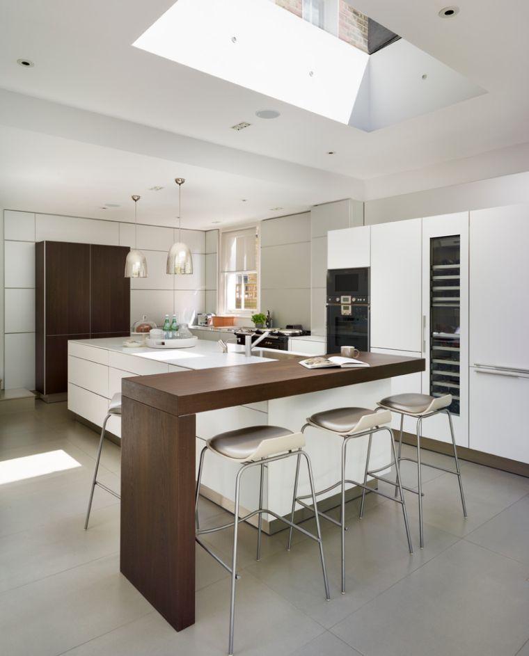 Plan travail cuisine avec jambage quels sont ses avantages? Kitchens - Table De Cuisine Avec Plan De Travail