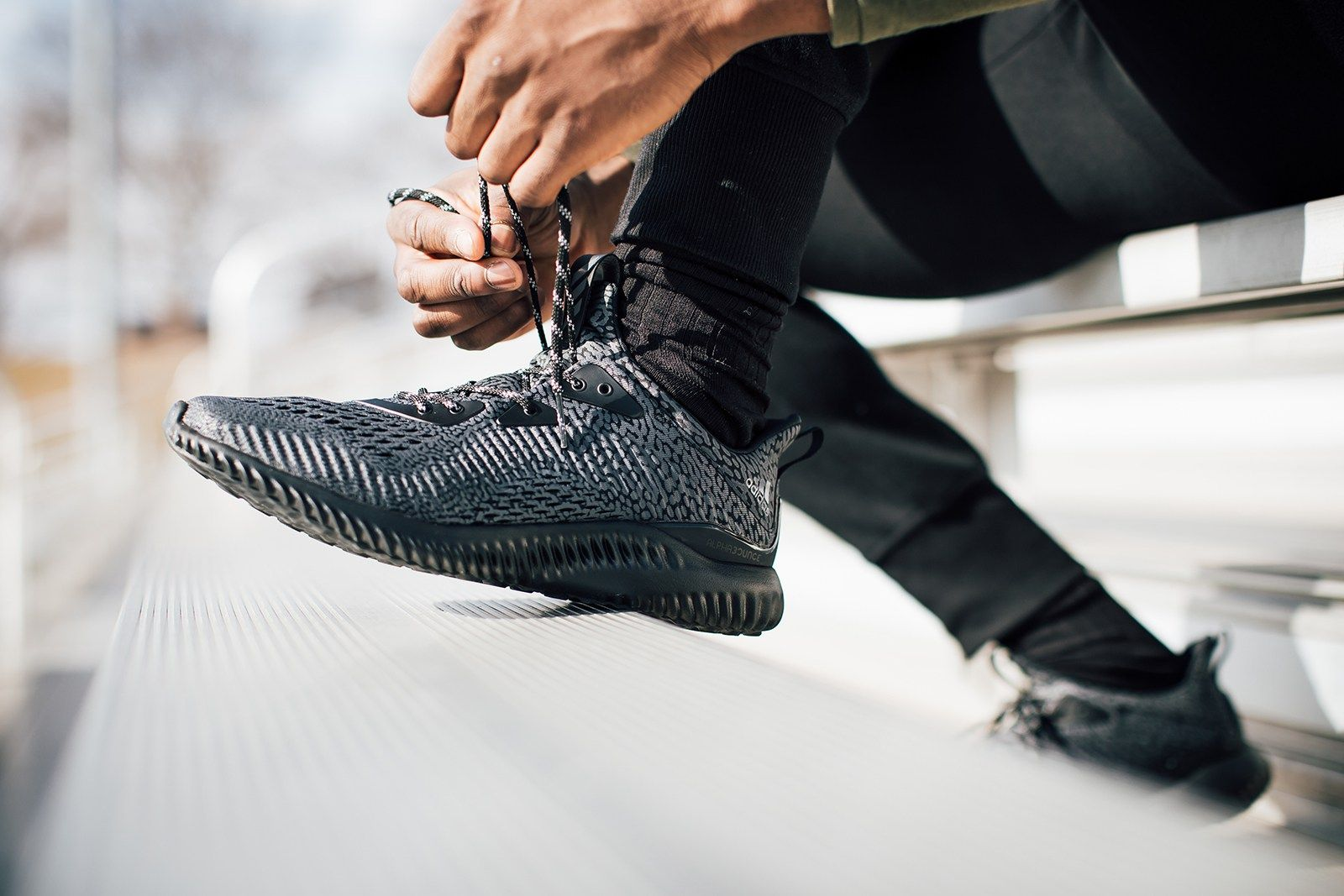 21487d6b668 The adidas alphabounce ams Delivers Futuristic Looks and Unparalleled  Energy Return