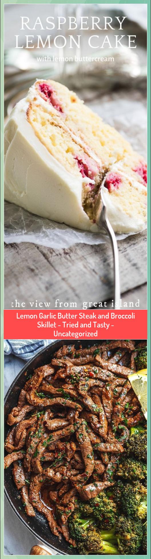 Lemon Garlic Butter Steak and Broccoli Skillet  Tried and Tasty  Uncategorized