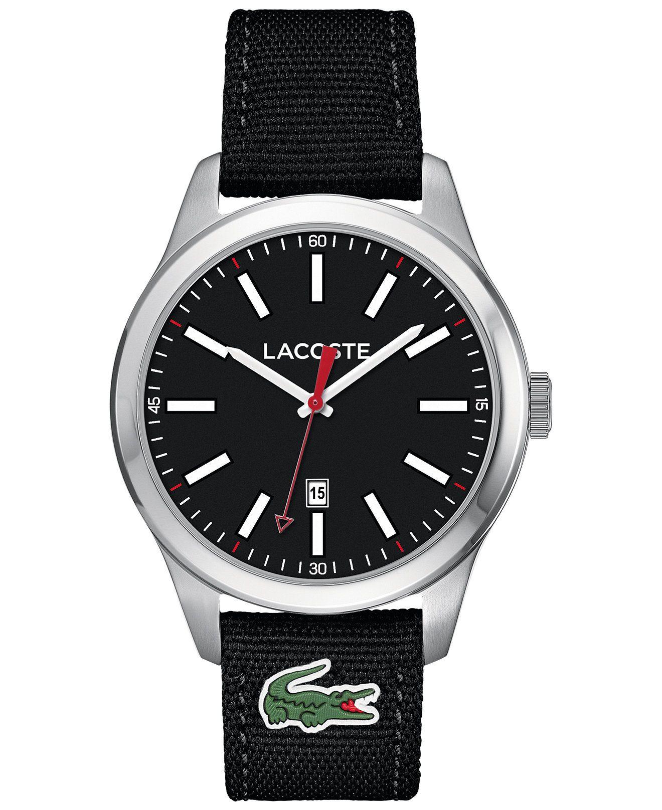 6fe055df37 Por estar de lanzamiento, tenemos este hermoso reloj Lacoste para hombre con  el 10%