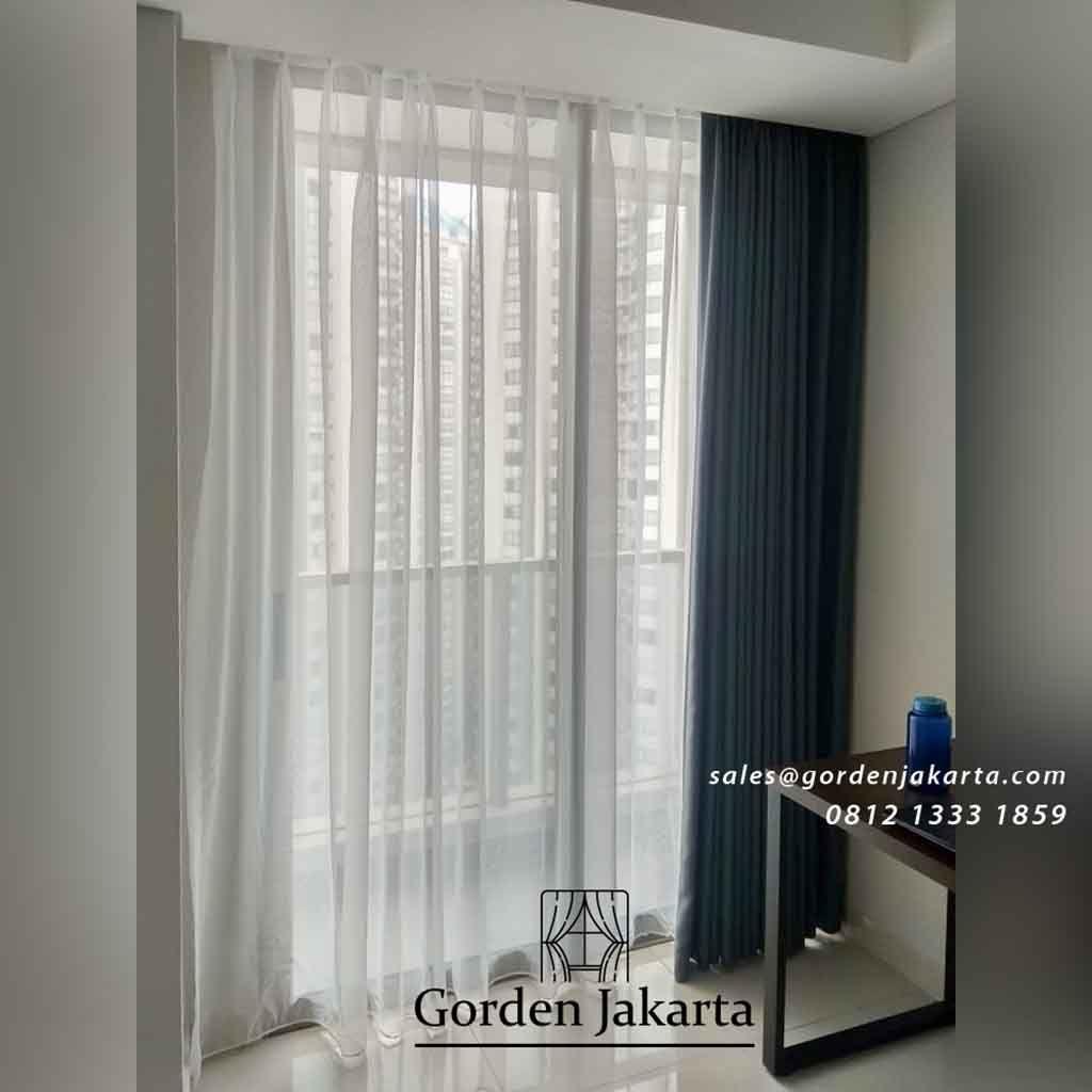 Model Gorden Jendela Minimalis Warna Grey Ide Dekorasi Rumah Desain Kamar Minimalis