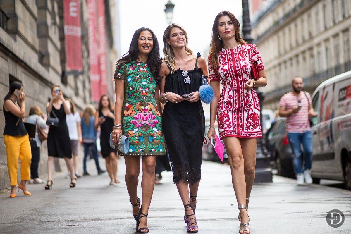Nausheen Shah, Helena Bordon  y Lise Grendene