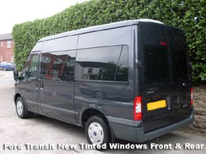 Tinted Windows Ford Conversions