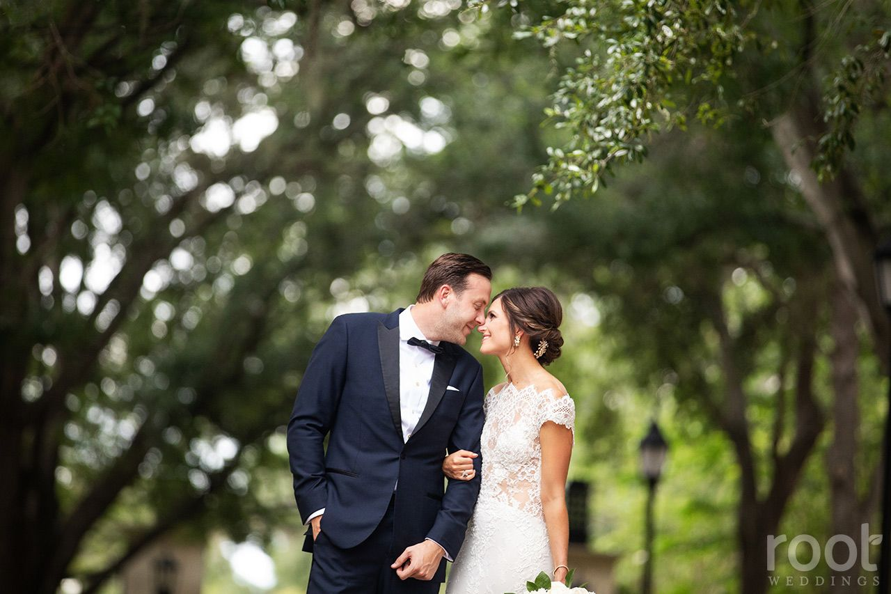 Alfond Inn wedding couple in Winter Park, Florida. root