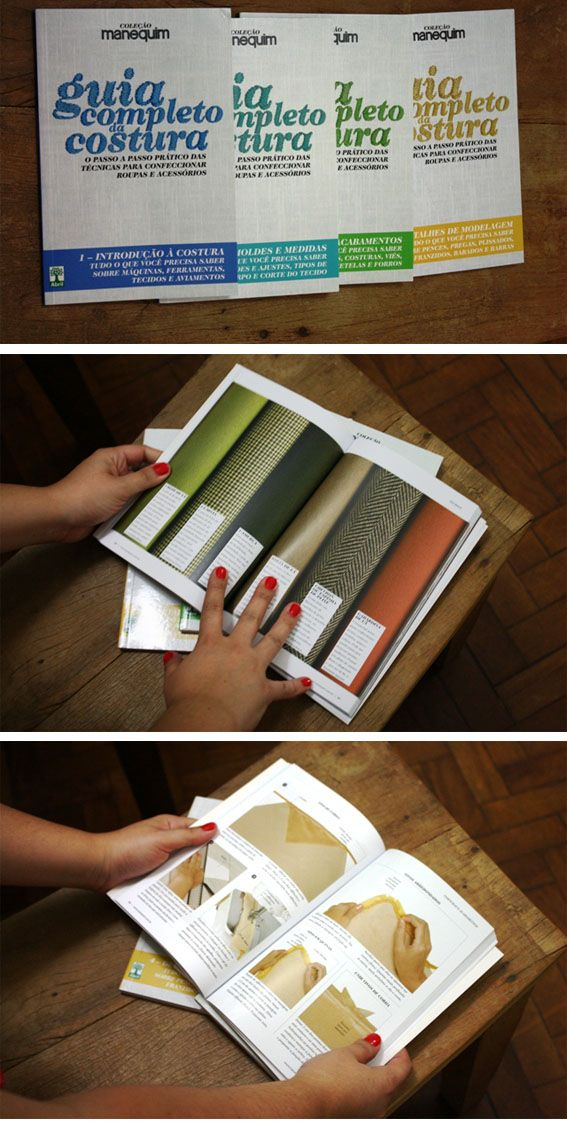 Livros para aprender a costurar