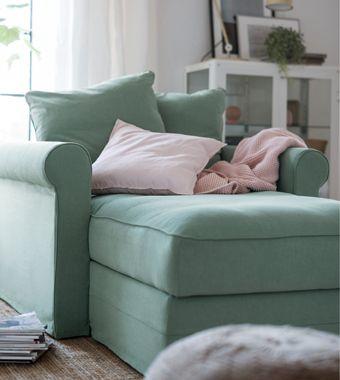 Kennst Du Schon Gronlid Egal Ob Als 2er Sofa Sitzlandschaft Oder Recamiere In Grun Weiss Oder Einer Anderen Farbe Dieses F Recamiere Ikea Stuhl Modul Sofa