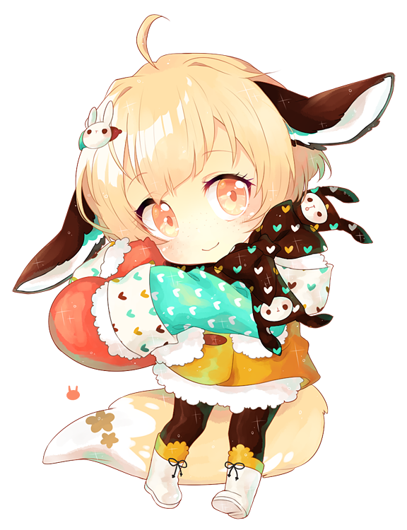 buns and bows by kaeryi Anime chibi, Kawaii chibi, Cute
