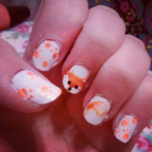 Foxes A bit messy but
