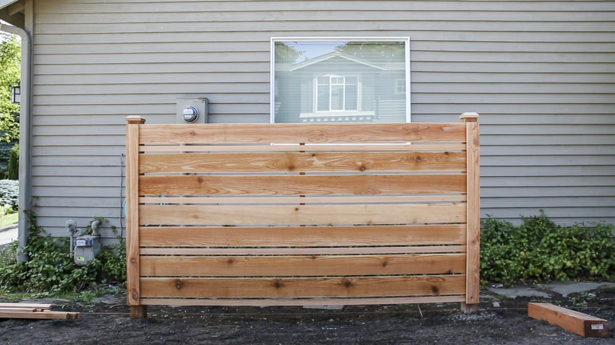 How to Build a DIY Horizontal Fence Building a fence