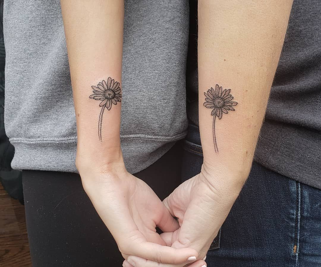 30+ Amazing Simple matching mother daughter tattoos image HD