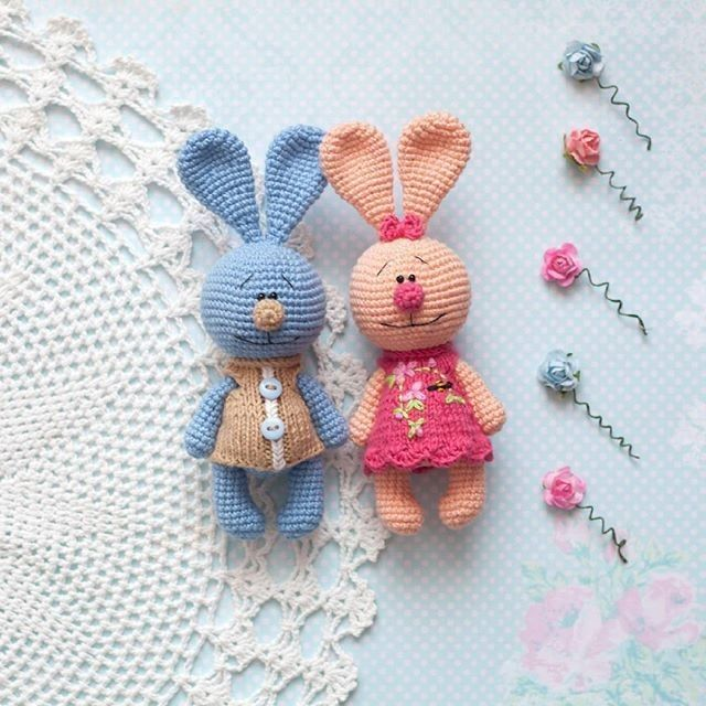Häschen-russisch   Häschen Hase bunny crochet   Pinterest   Hase ...