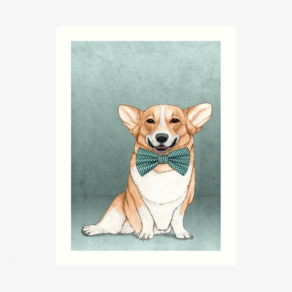 Dog Art Print by barruf Corgi Dog Art Print by barruf  Plush  Divi Child Theme Plush Femenine Divi Child Theme is a modern sophisticated and elegant WordPress theme desig...