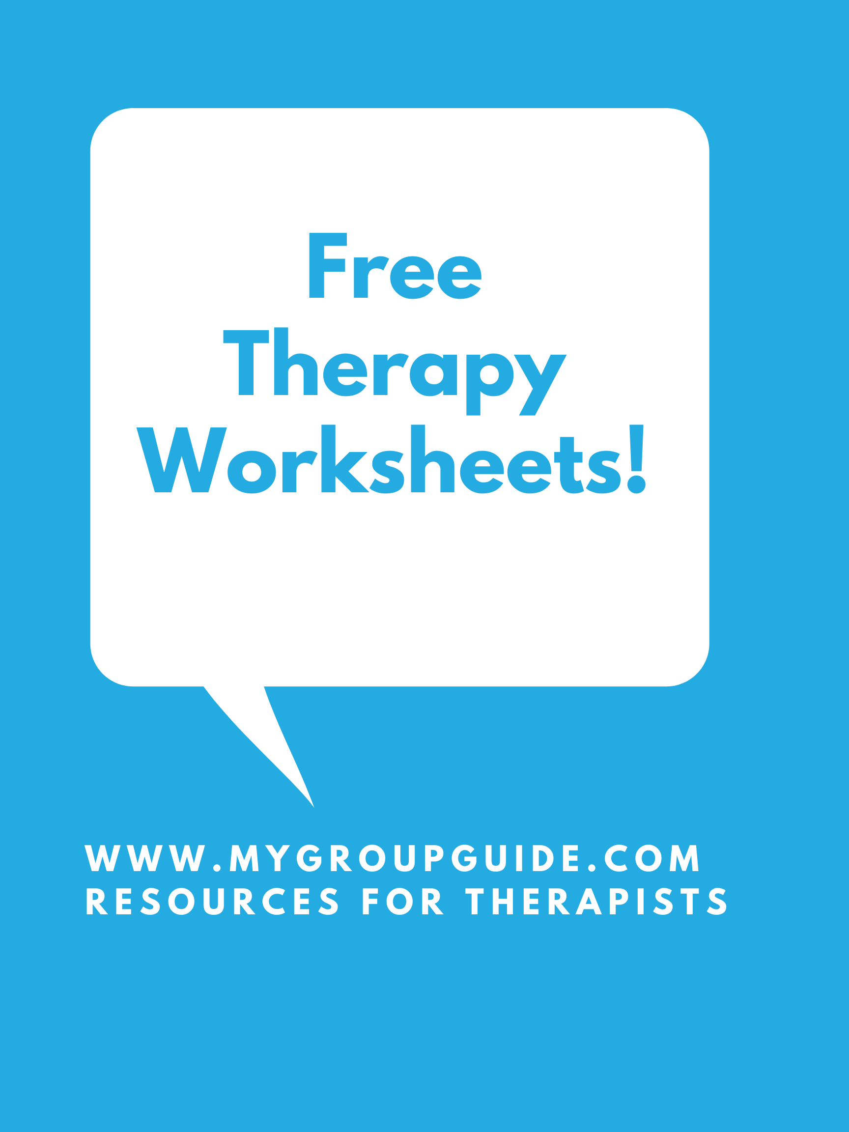 My Group Guide Learn More About Our Therapy Resources In