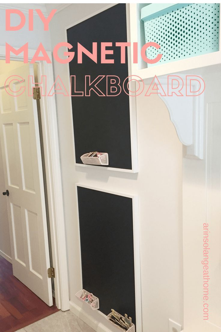 Vernice Lavagna Magnetica Colorata diy magnetic chalkboards | magneti