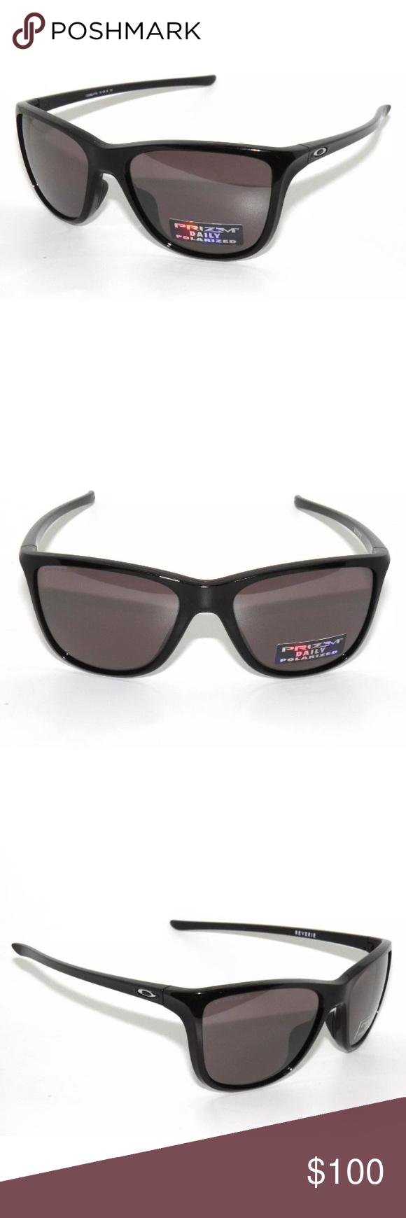 8a09b0ed1730f Oakley Reverie 9362-07 Black Polarized Sunglasses