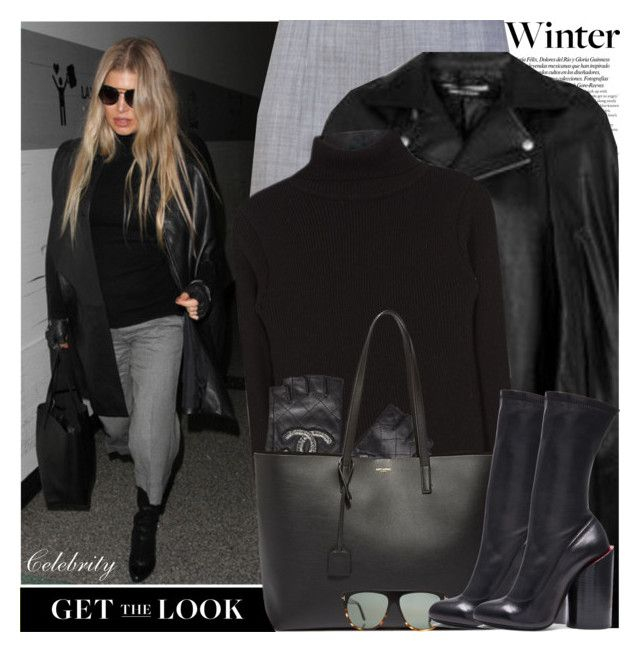 """""""Get the Look: Winter Edition Fergie"""" by nastyaafanasova ❤ liked on Polyvore featuring ASOS, Proenza Schouler, Chanel, Yves Saint Laurent, Tom Ford, Givenchy, women's clothing, women's fashion, women and female"""