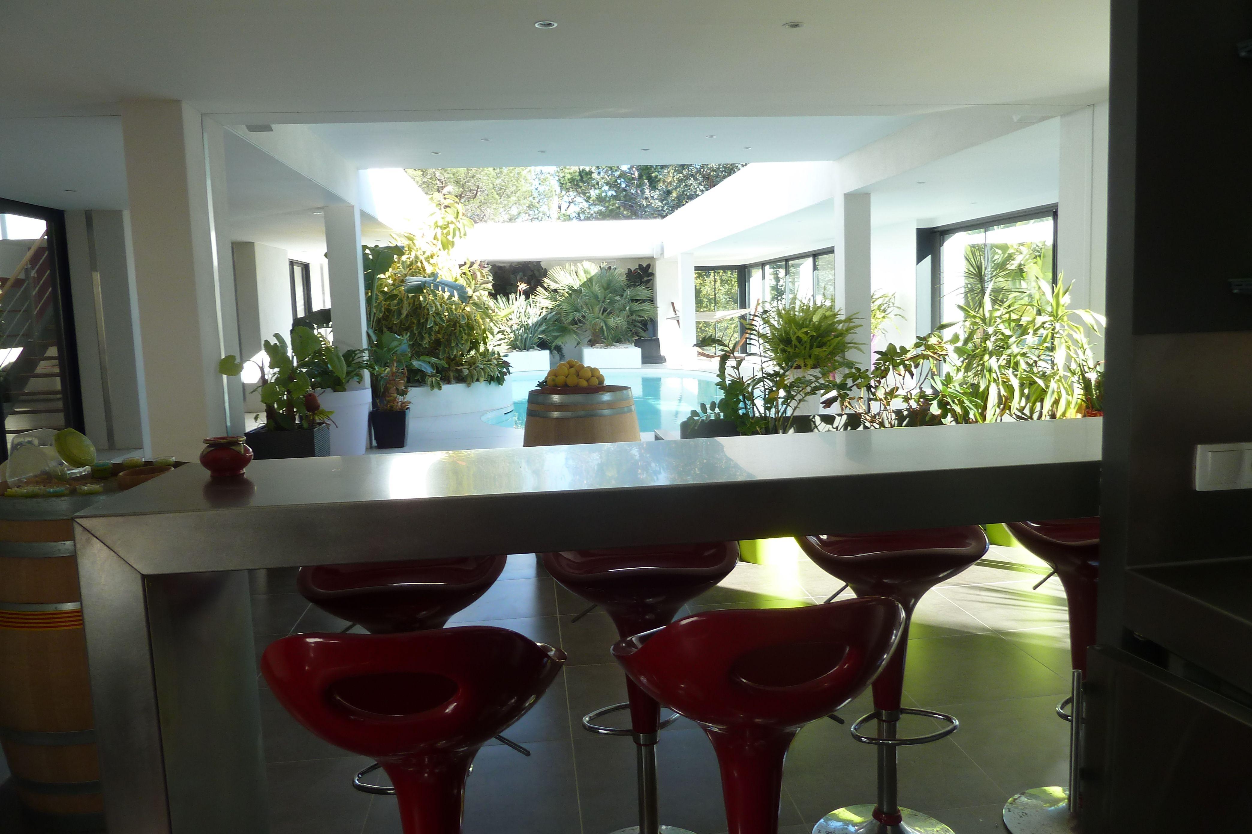 Salon Ultra Moderne D Une Villa A Vendre Sur Perpignan Maison Moderne Villa A Vendre Maison